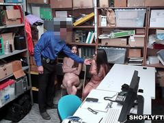 Shoplyfter - Teen Bffs Fucked By Dirty Cop For Freedom