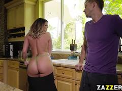 Bill Bailey fucks Brooklyn Chase anal doggy