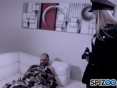 Spizoo - Stella Cox is Ready to take a huge hard cock in her ass