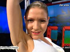 Sweet Charlys white panties - GGG Live - German Goo Girls