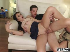 stepmom shares bf with megan sage clip