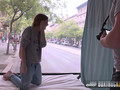 Amazing Allegra Agrees to an Erotic Photoshoot in Public
