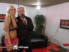 Blonde Sex Bomb Bukkake lover - German Goo Girls
