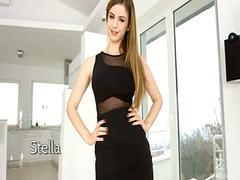 Gorgeous Model Stella Cox Firsttime anal sex