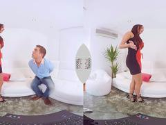 VIRTUAL TABOO - Stunning Milf Creampied  In Her Greedy Pussy