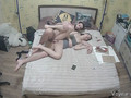 Hidden Cam Captured Young People Making Love In Rented Room