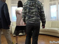 Brunette Babe Lina Arian and Her Husband Talk a Black Dude into Ass Fucking Her