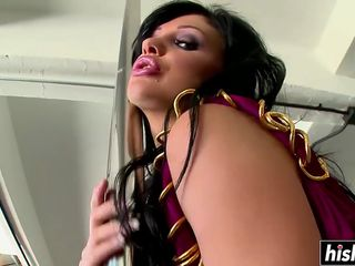 Aletta Ocean chokes on a monster dick