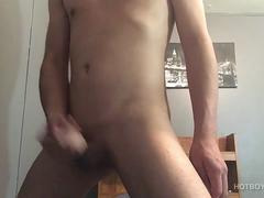 Latin Twink Marco Jacking Off