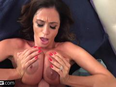 BANG Confessions - Cheating Wife Ariella Ferrara fucks the pool guy