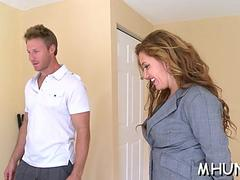dude seduces milf for sex segment clip 1