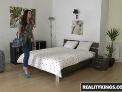 RealityKings - Mikes Apartment - Emma Leigh Renato - Red Beauty