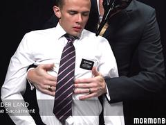 MormonBoyz - Smooth athletic bottom used in secret sex ceremony