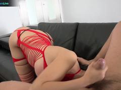 Manuel Ferrara to fuck her into her butthole