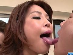 Amazing sex scenes at work with nurse, Erika Nishino