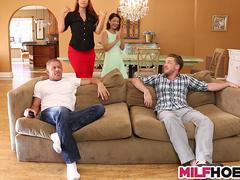 hot stepmom likes stepdaughters boyfriend too video