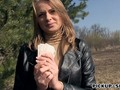 Blondie Czech babe Ivana Sugar gets pounded for money