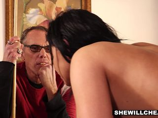 SheWillCheat - Latina Babe Selena Destroyed by BBC while Husband Watches