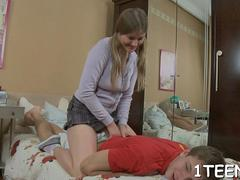 hardcore threesome on the bed movie feature 1