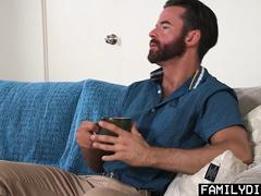 FamilyDick - Stepson slut punished fucked by angry stepdad