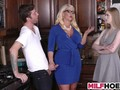 stepdaughters boyfriend gets seduced by mom clip