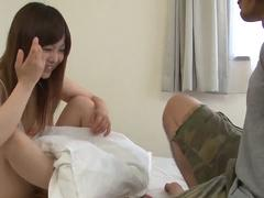 Young Miku Airi fucked by boyfriend in bedroom romance  - More at 69avs.com