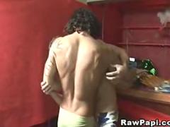 Sexy Hot Latino gay Fuck after Party at the Bar
