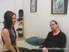 Tattooed Alexia loves hard cock