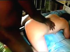 Cuckold wife fuck with BBC in front of husband