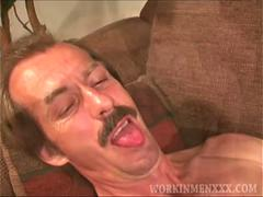 Mature amateur ricky jacking off