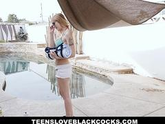 TLBC - Busty Blonde Teen Sailor Luna Gets Pounded With Black Cock