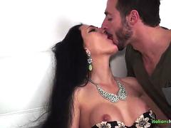 Slutty Italian Pussy in Hot creamy Fuck with Big Cock