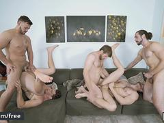 Men.com - Colby Keller and Jacob Peterson and Paul Canon and Roman Cage and Trevor Long