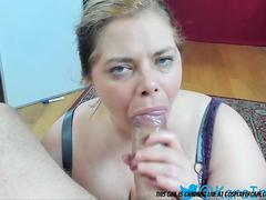 Sub bbw facefucked