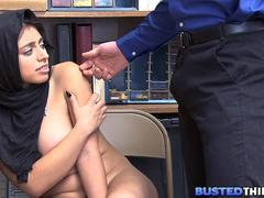 Hijab Teen Fucked For Stealing