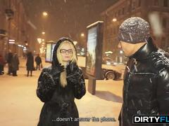 Dirty Flix - Marina - Winter-time casual fuck