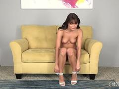 Adria Rae Is One Naughty Teen Who Loves Fucking LIVE