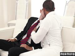 MormonBoyz - Muscle Daddy Seduces a Young Guy