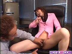 Sweet chavette Maria Fujisawa moans as she gets her pussy banged - More at hotajp.com