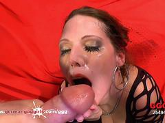Queen Of Goo Viktoria Sharing Cum With her Sexy Friends - German Goo Girls
