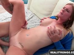 Olivia Blu Chris Strokes - Big Ole Boobs - Reality Kings