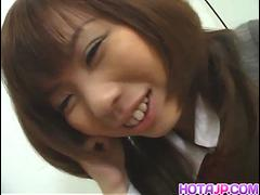 Sexy babe Misa Kurita is all smiles before she gets a pleasurable penetrati - More at hotajp.com