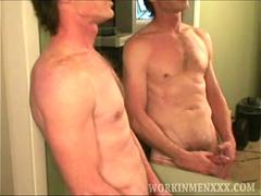 Mature Amateur Rick Jerking Off