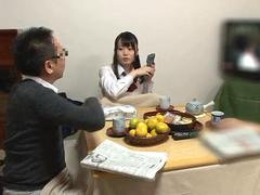 horny japanese teen fucked at dinner feature