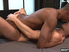 Big dick gay interracial and cumshot