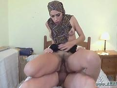 Pinoy arab and house maid first time No Money No Problem