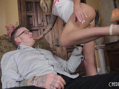 Big Boob Cougar Isabelle Deltore Loves Fucking Young Hard Cock