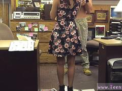 Natural hairy College Student Banged in my pawn shop