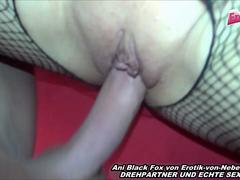 German homemade porn from a real skinny famous pornstar ani black fox