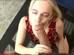 Casting big tit skinny whore fucked by Chris Charm